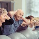 Gruppengymnastik für Senioren